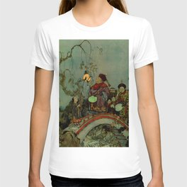 """""""In Search of a Nightingale"""" by Edmund Dulac T-shirt"""