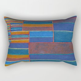Paul Klee In the Current Six Thresholds Rectangular Pillow