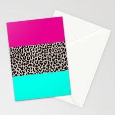 Leopard National Flag Stationery Cards
