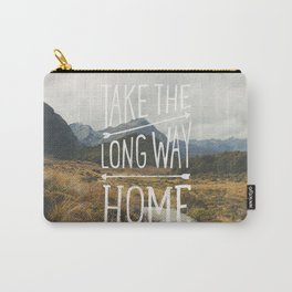 TAKE THE LONG WAY Carry-All Pouch