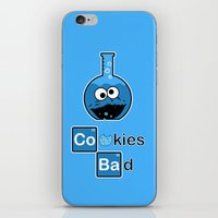 cooking iPhone & iPod Skins featuring Cooking Bad by Loku