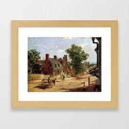 Francis Blackwell Mayer Old Annapolis, Francis Framed Art Print
