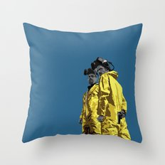 Breaking Bad: Walt and Jesse Throw Pillow