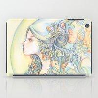 zodiac iPad Cases featuring Zodiac - Aquarius by Hellobaby