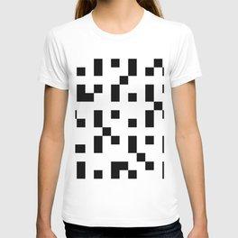 Black & White Square Grid T-shirt