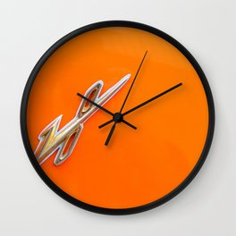 V 8 power Wall Clock