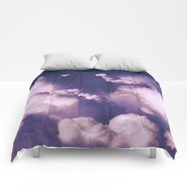 Violet Clouds Comforters
