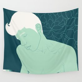 Succulent Boy Wall Tapestry