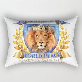 Go Hard 4 Peace, Love & Unity Rectangular Pillow