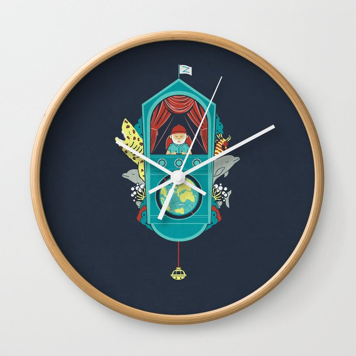 Aquatic Adventurer Wall Clock