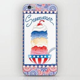 Summer Sundae iPhone Skin
