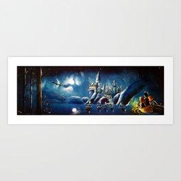 Magical Panorama Art Print
