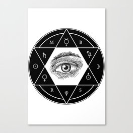 Secrets of the Great Architect Canvas Print