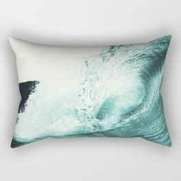 Liquid Motion Rectangular Pillow