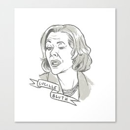 Lucille Bluth Canvas Print