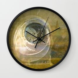 TMT / The Biggest Spatial Eye / EXPLORERS ONLY Wall Clock