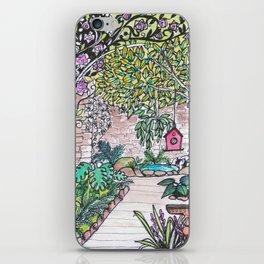 Val's Beautiful Garden iPhone Skin