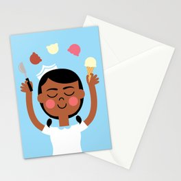 One Scoop or Two? Stationery Cards
