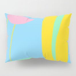 Colorful Abstract Shapes Pillow Sham
