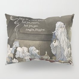 They've come for tea, & for supper, & for you Pillow Sham