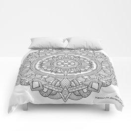D-N-A-lien Comforters