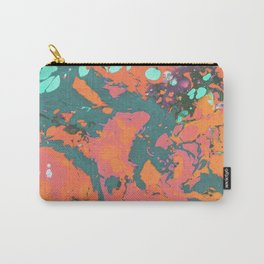 Summer evening marble Carry-All Pouch