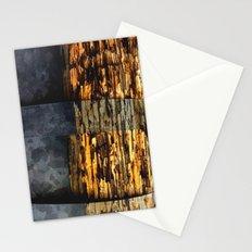 woodonmetalonwood Stationery Cards