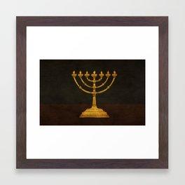 Exodus 37:17 Framed Art Print