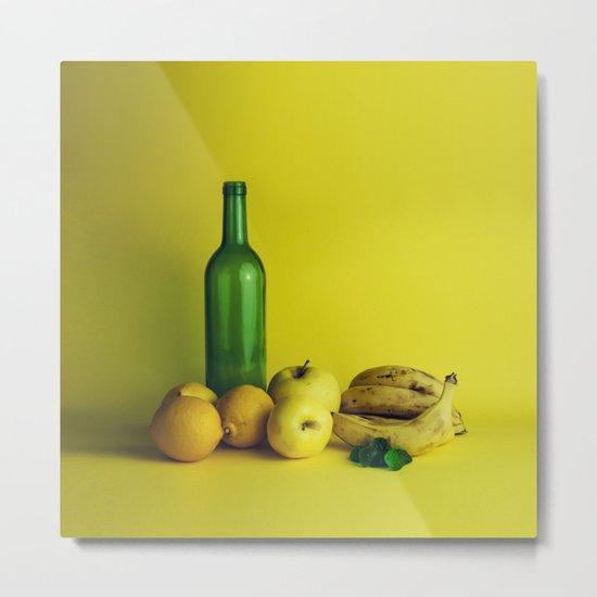 Lemon lime - still life Metal Print