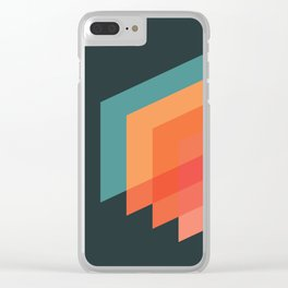 Horizons 02 Clear iPhone Case