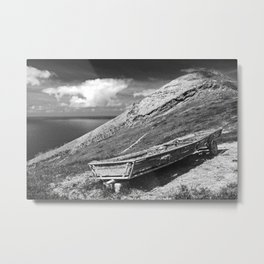 Farming with a view Metal Print