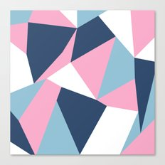 Abstraction Pink Canvas Print