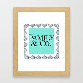 FAMILY & CO Framed Art Print