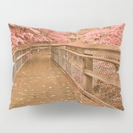 Catoctin Boardwalk Trail - Rustic Pastel Fantasy Pillow Sham