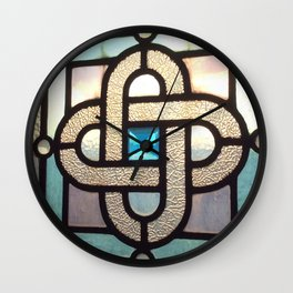 Sapphire Link Wall Clock