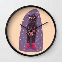 embrace feminism Wall Clock