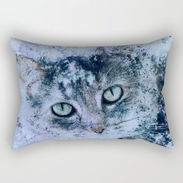 Miss Kitty Unleashed! Rectangular Pillow