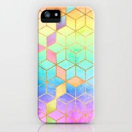 Rainbow Cubes iPhone Case