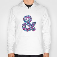 ampersand Hoodies featuring Ampersand by Mister Phil