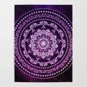 Purple Glowing Soul Mandala by inspiredimages