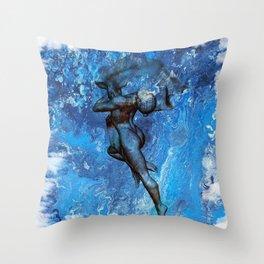 Waterdance Throw Pillow