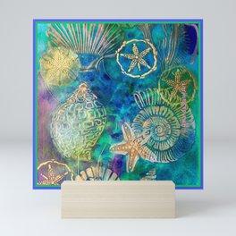 SeaFloor Treasure Mini Art Print