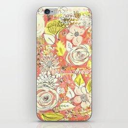 Pink Chintz iPhone Skin