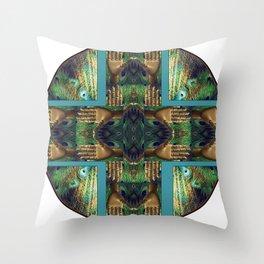 Beautiful Hands Mandala Throw Pillow