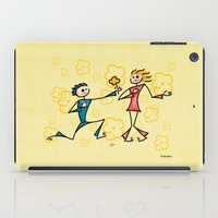 lovers iPad Cases featuring Lovers by Giuseppe Lentini