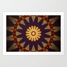 moroccan wedding Art Print