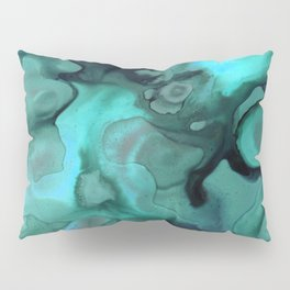 Ebb and Flow - Emerald Pillow Sham