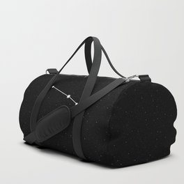 Aries Star Sign Night Sky Duffle Bag