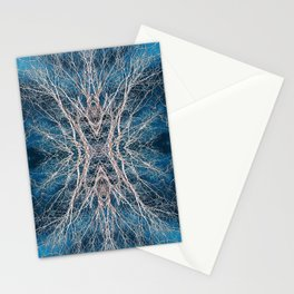 Abstract Mandala Forest 1967 Stationery Cards