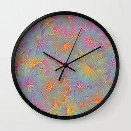 Flower Sea 3 Wall Clock